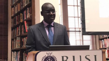 Lieutenant General TY Buratai Addresses Royal United Services Institute in London