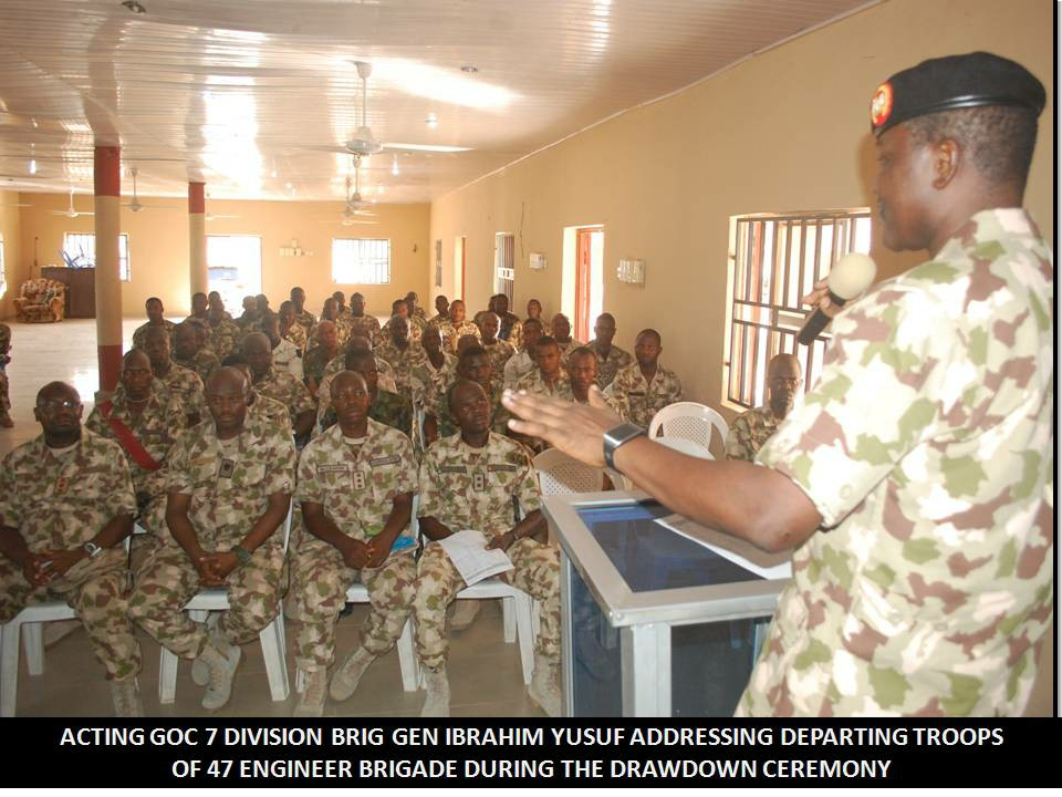 Thumbs Up For Engineer Brigade Support In Fight Against Insurgency in The North East