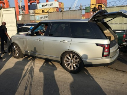 Stolen SUV Range Rover From Washington Impounded in Nigeria and Handed Over To Interpol