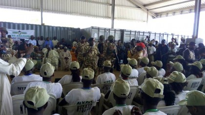 NYSC DG Kazaure, President Muhammadu Buhari and The Northeast Orientation Camps