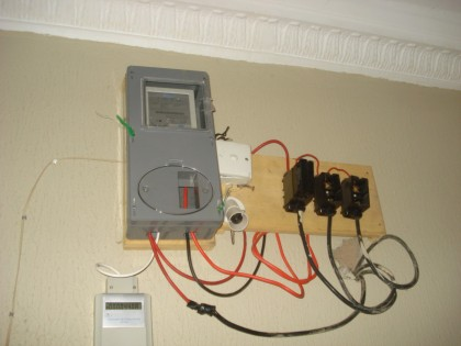 prepaid-meter for electricity