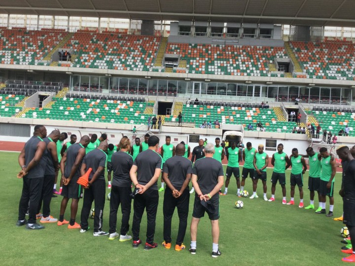 Nigeria's coach predicts tough match against South Africa