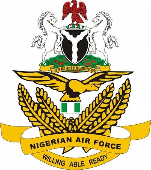 Nigeria Air Force `Wings' Two Flying Officers