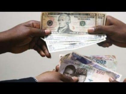 dollar naira exchange
