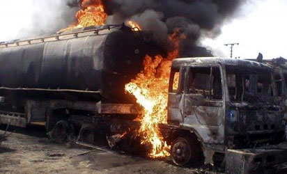 10 die, 6 critically injured as petrol tanker catches fire in Lokoja