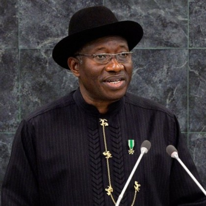 goodluck jonathan on PDP