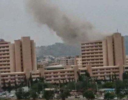 BREAKING: Abuja Federal Secretariat on Fire