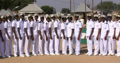 Nigerian Navy train new intakes
