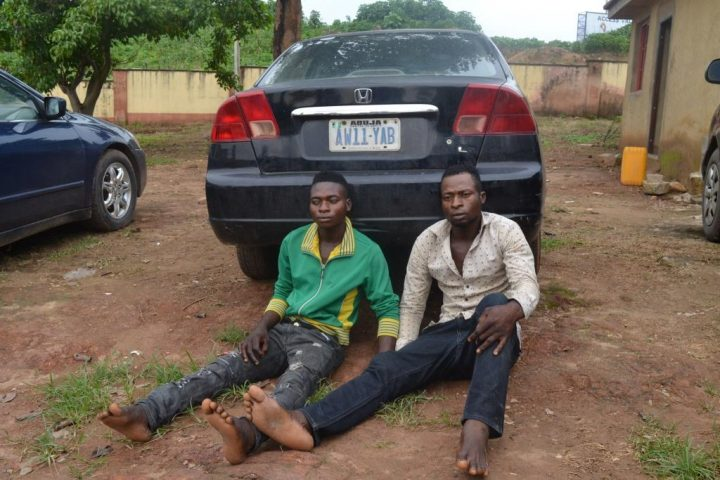 police-two-brothers-car