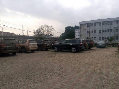 37 Assorted Cars Smuggled Into Nigeria via Unapproved Routes Impounded