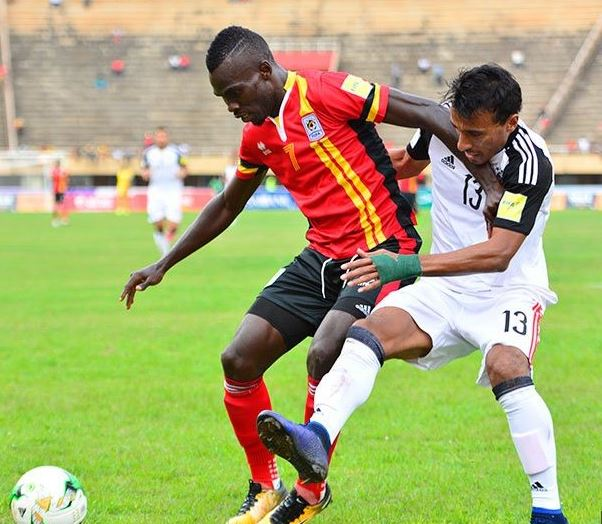 Uganda Upsets Egypt, Tops Group On The Road To Russia 2018