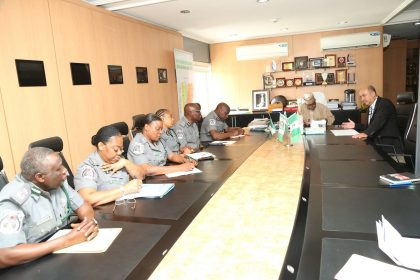 Update: Customs Boss Ali, Turkish Ambassador Meet on Riffles Seized All Coming From Turkey