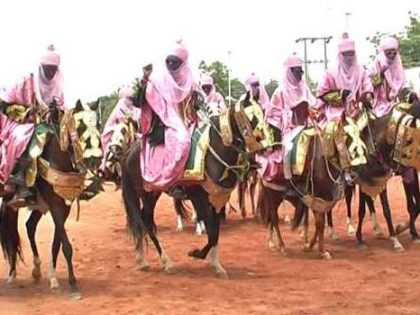 Eid-el-Kabir Sallah: Hawan Magajiya Durbar Held In Honour of President Buhari