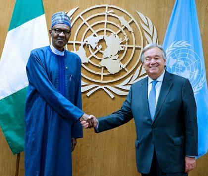 #UNGA: What President Buhari and UN Secretary General Guterres Discussed At Bilateral Meeting