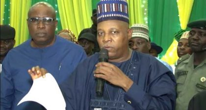 Gov. Kashim Shettima Submits Anambra Governorship Primaries Report
