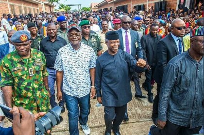 President Buhari Wants To Provide Real Opportunities For People – Osinbajo