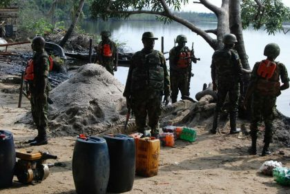 Troops Operations Against Criminals In The South South