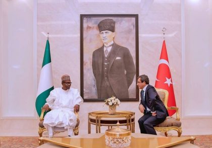 President Buhari Visits Mausoleum of Turkey's Founding Father, Lauds Relations Between Nigeria, Turkey