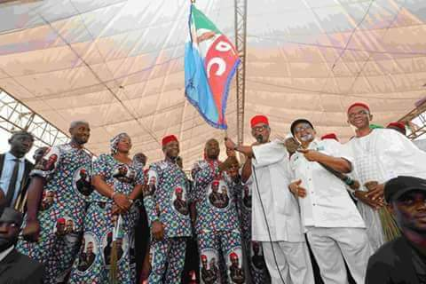 APC Flags-Off Campaign For Anambra Governorship Election: VP, Governors in Attendance