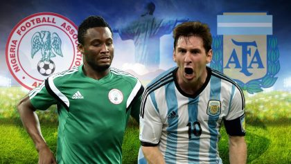 Nigeria to take on Argentina in friendly in Russia on Nov. 14