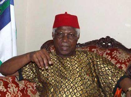 #Breaking;Former Vice President, Dr Alex Ekwueme, is dead