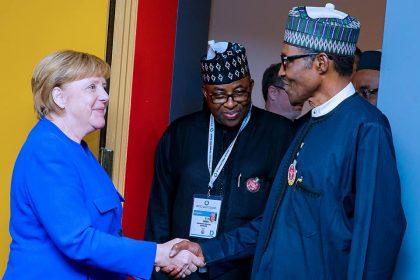 Angela Markel Seeks President Buhari's Support