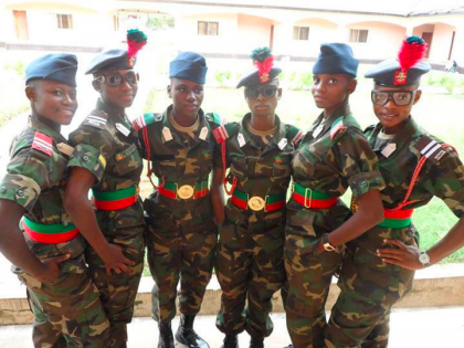 RE: Military Stops Admission of Female Cadets