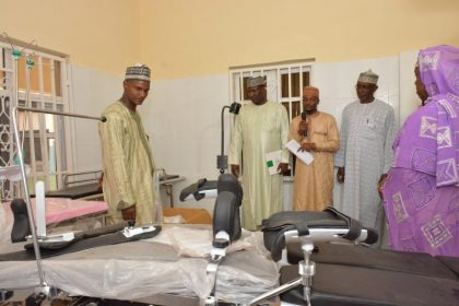 Aisha Buhari hands over state of the art maternity complex to Katsina State Government