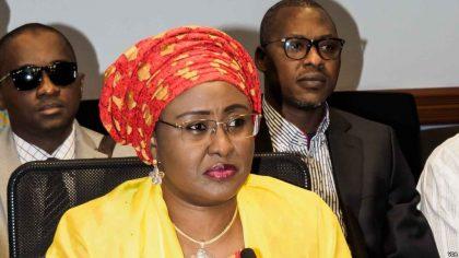 Wife of The President Aisha Buhari Congratulates North East over NEDC Act