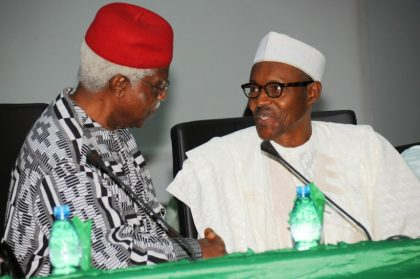 President Muhammadu Buhari Mourns Dr. Alex Ekwueme