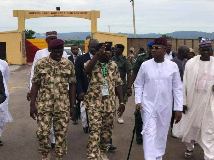 Gov Jibrilla Bindow Calls For Tighter Security in Adamawa, Commend Troops