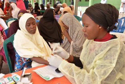 @FutureAssured For Gombe Citizens as Aisha Buhari conducts Health Screening