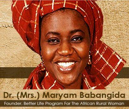 IBB Plans Scholarship to Immortalize Late Wife, Maryam Babangida