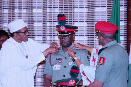 President Buhari Commends Guards Brigade For Professionalism