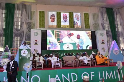 President Buhari in an Interactive Session with Community Leaders in Kano