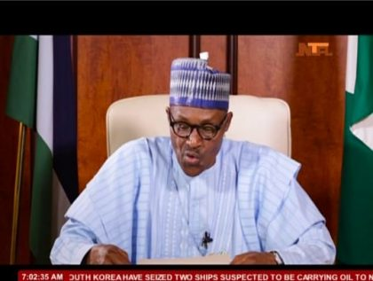 Tune in tomorrow for President Buhari's New Year Address