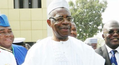 President Buhari Congratulates TY Danjuma on 80th Birthday Anniversary