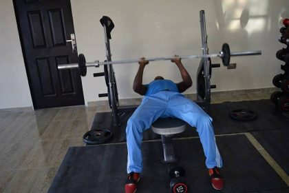 Nigerian Air Force Commissions Fitness Centre in Maiduguri