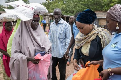 Beneficiaries in Taraba Commends Aisha Buhari for Providing Sustainable Livelihood