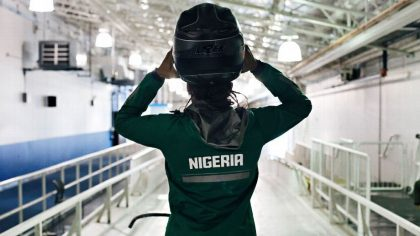 Meet the New Super Eagles Bobsled Team #TeamNigeria