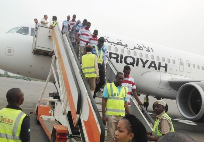 Nigeria Gets 249 More Returnees From Libya