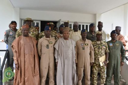 Borno State Government to Build Housing Units for Air Task Force Operating in the Northeast