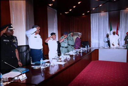 Update on National Security Council Meeting with President Buhari