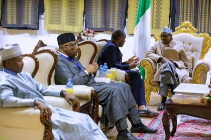 President Buhari Discusses Peace and Security Matters at AU Summit
