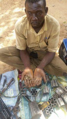 Gun Runner, Arms Manufacturer Arrested in Akwanga On His Way to Saminaka, Kaduna State
