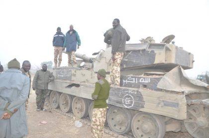 Camp 'ZAIRO' Cleared, EMB Tank Recover
