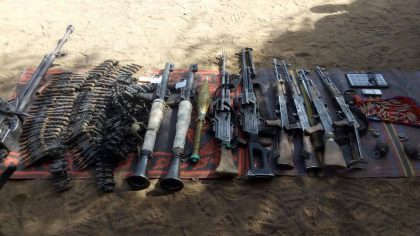 Deep Punch on Boko Haram, 50 Neutralized, Ranking Member Captured and Arms Seized