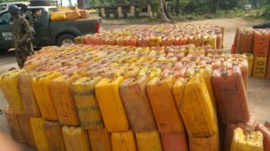 469,000 Litres Illegal Petrol Headed for Benin Republic