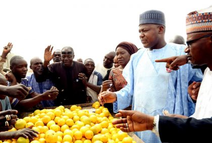 Dogara Empowers Petty Traders, Artisans in Bauchi Market
