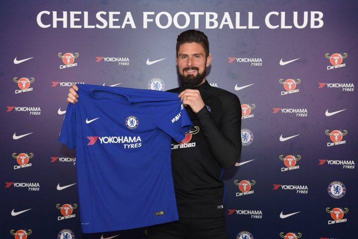 Chelsea close on Giroud as three-way deal nears conclusion